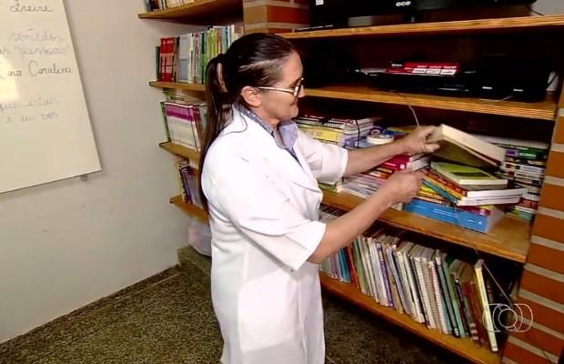 Centro de internação conta com escola em Formosa, Goiás (Foto: Reprodução/ TV Anhanguera)