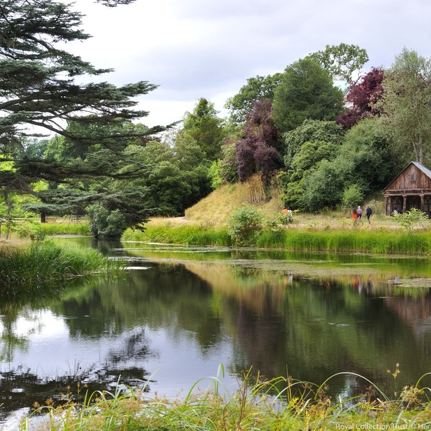 Frogmore House: a nova casa de Meghan Markle e do príncipe Harry (Foto: Divulgação / Royal Uk)