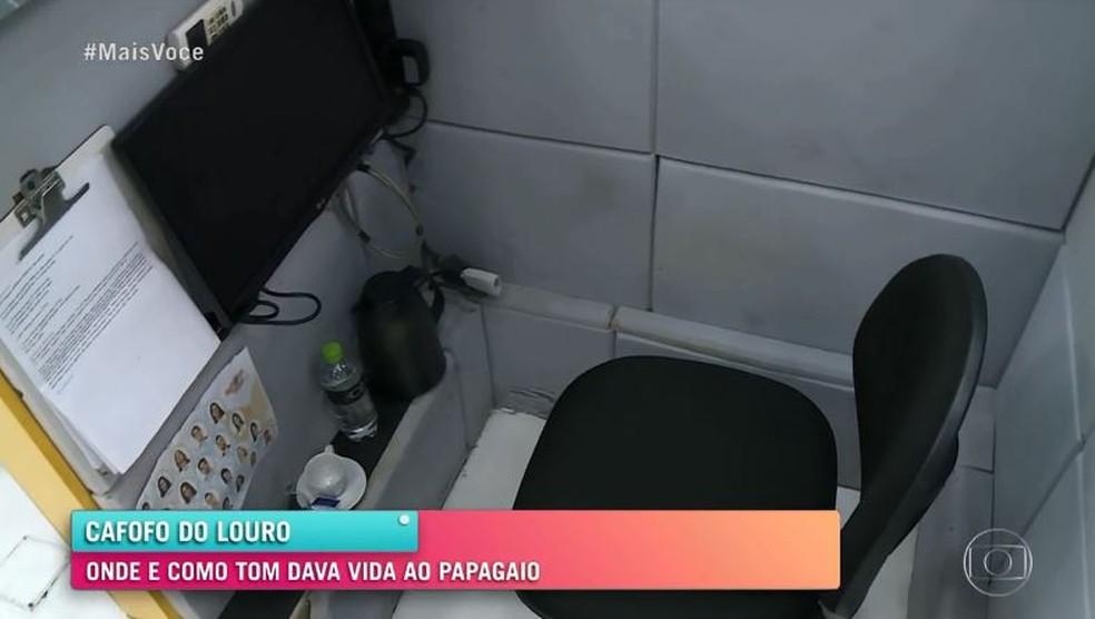 'Mais Você' traz detalhes dos bastidores do trabalho de Tom Veiga como Louro José  Foto: Globo