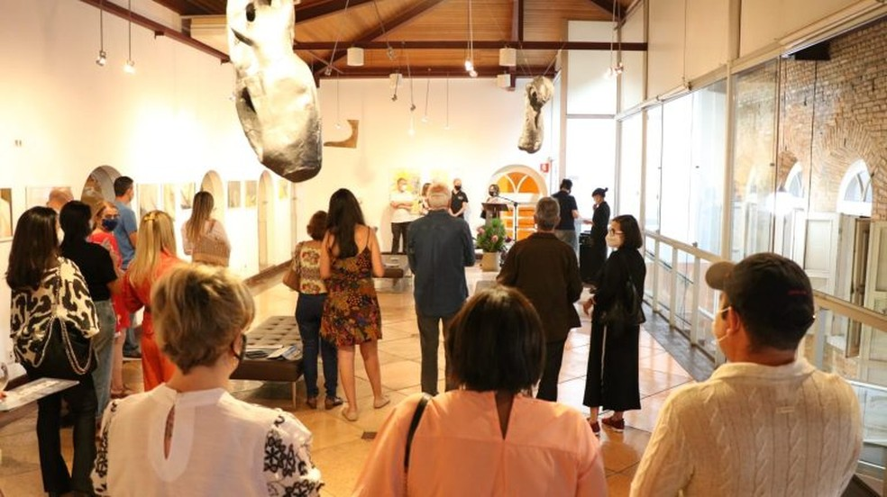 Saiba como visitar a exposição — Foto: Prefeitura de Muriaé/Divulgação