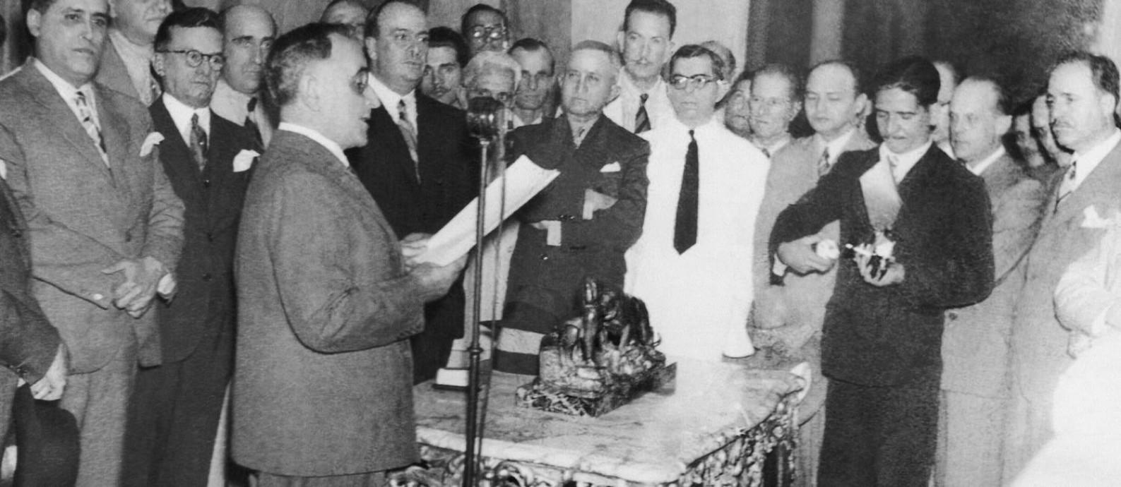 """Getúlio Vargas inicia o período ditatorial conhecido como """"Estado Novo"""" (Foto: Divulgação)"""