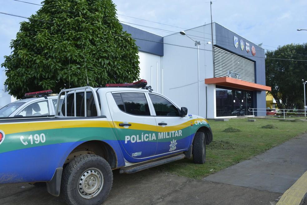 Caso foi registrado na Unisp de Ariquemes (Foto: Diêgo Holanda/G1)