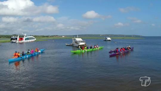 Canoístas de todo Brasil embarcam em Expedição Tapajós com destino à Fordlandia