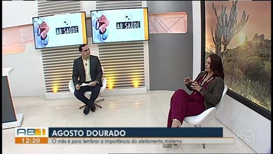 Ginecologista fala sobre aleitamento materno no 'AB Saúde'