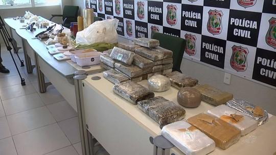 Série de ações da polícia prende 11 pessoas por tráfico de drogas