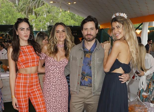 Daniela Botero, Karen Martinez, Edgar Ramirez e Martha Graeff (Foto: Foto:  Divulgação)