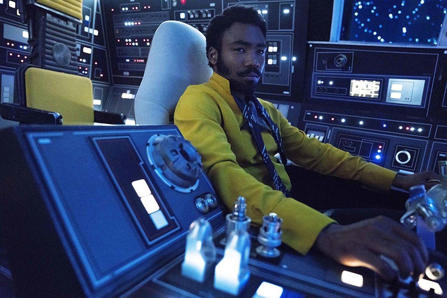 Donald Glover em 'Han Solo: Uma História Star Wars' (2018)  (Foto: Divulgação)