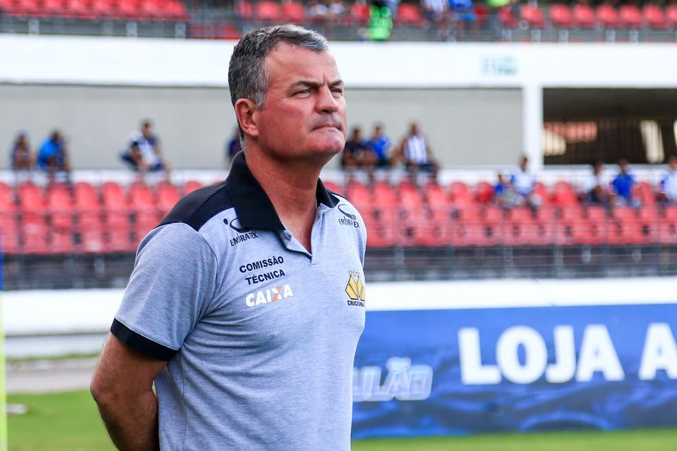 Mazola Júnior avaliou a derrota fora de casa (Foto: Ailton Cruz/Gazeta de Alagoas)
