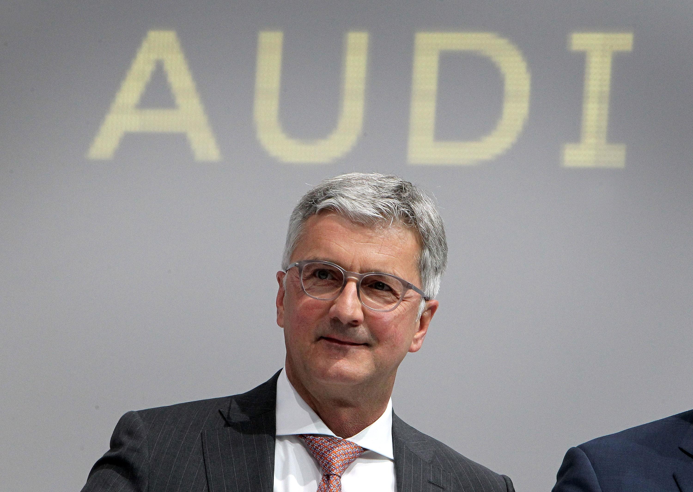Presidente da Audi é preso na Alemanha