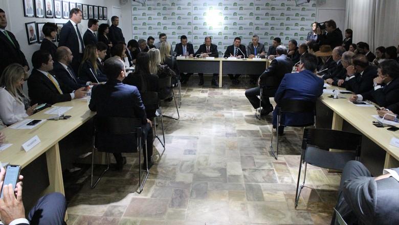politica-reuniao-fpa-moro (Foto: Divulgação/FPA)