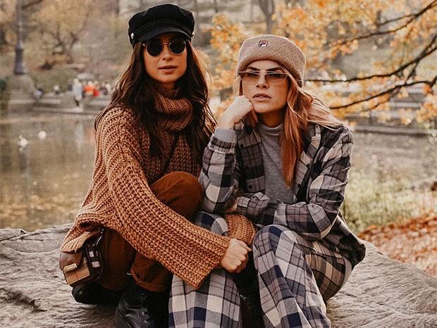 Julia Faria e Thaila Ayala (Foto: Reprodução/Instagram)