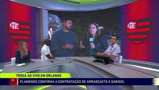 Flamengo acerta contratação de Arrascaeta e Gabigol