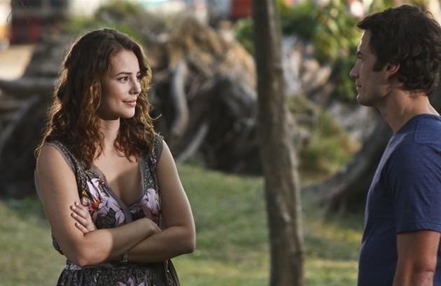 No episódio 'A atormentada da Tijuca', de 'As cariocas', contracenou com Paolla Oliveira (Foto: Ique Esteves/ TV Globo)