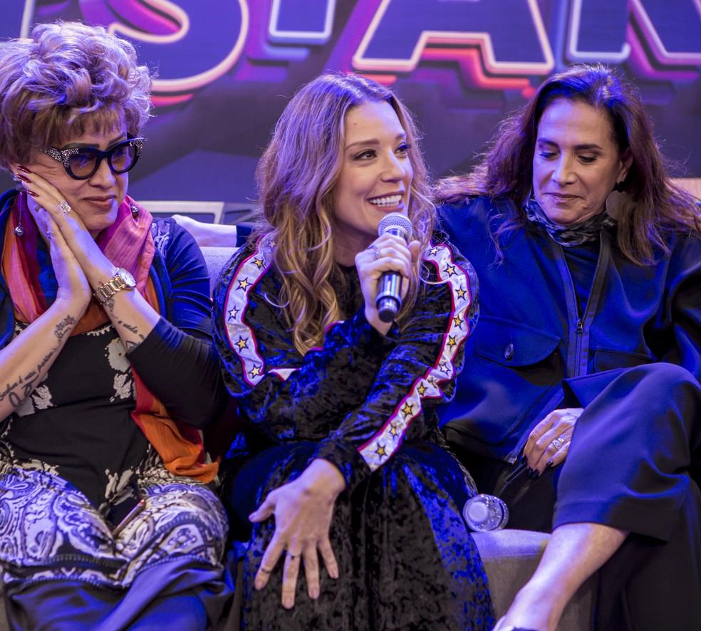 Helga Nemetik é mais uma participante que encarou o 'Show dos Famosos' e agora entra na disputa do 'PopStar' — Foto: Artur Meninea / Gshow