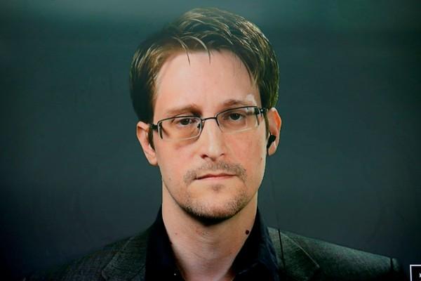 Edward Snowden revelou escândalo de espionagem da NSA sobre o governo brasileiro em 2013. — Foto: Brendan McDermid/Reuters/Arquivo