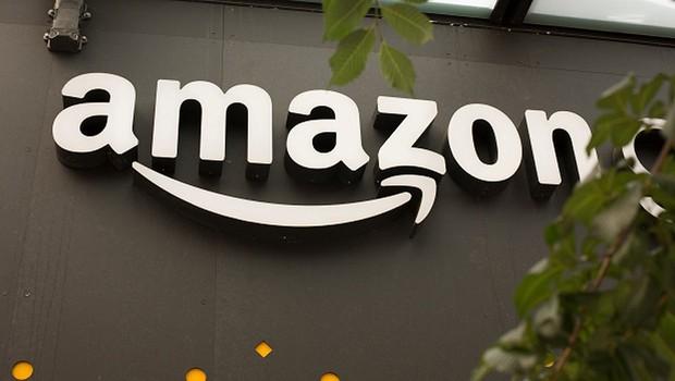 ce82e4dd898e2 Logo da Amazon é visto na sede da empresa em Vancouver (Foto  David Ryder