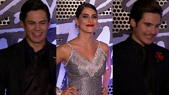 Lucas Veloso e Maria Joana revelam suas torcidas na repescagem do 'Dança dos Famosos'