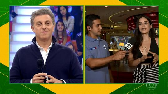 Clarice Alves, esposa do jogador Marcelo, fala sobre expectativa para jogo do Brasil: 'Todas as famílias vão juntas'