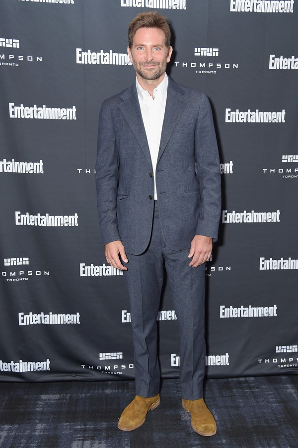 TORONTO, ON - SEPTEMBER 08:  Bradley Cooper attends Entertainment Weekly's Must List Party at the Toronto International Film Festival 2018 at the Thompson Hotel on September 8, 2018 in Toronto, Canada.  (Photo by Michael Loccisano/Getty Images) (Foto: Getty Images)