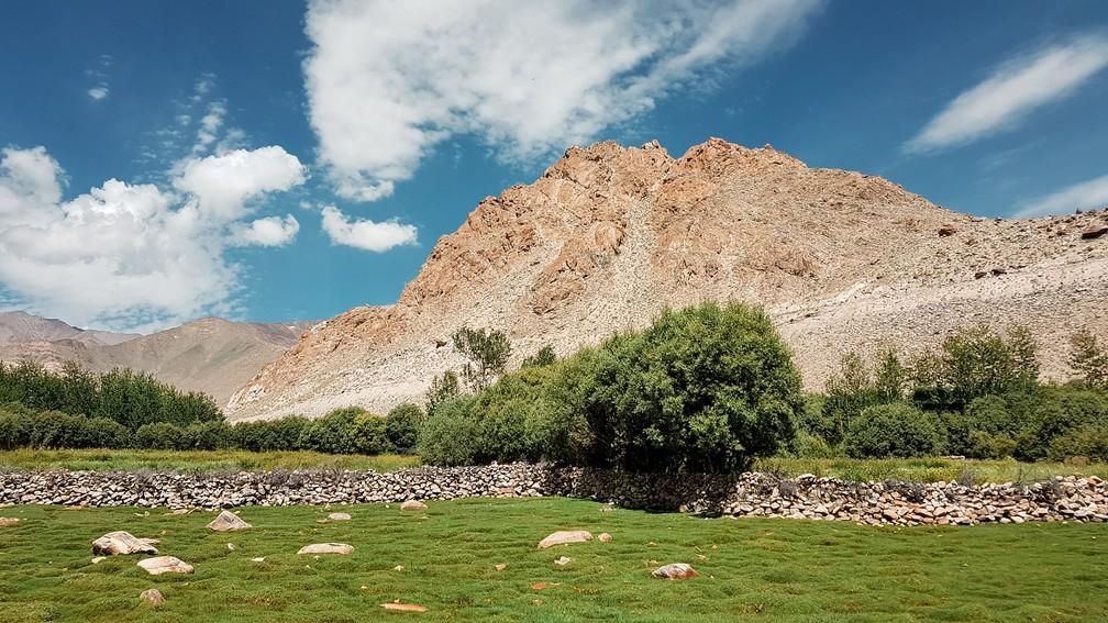 Khardung La, em Ladakh, na Índia (Foto: Rafael Miotto / G1)