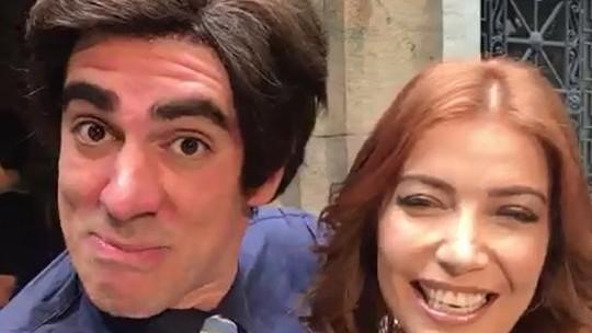 Tony Karlakian é fã de Luiza Possi