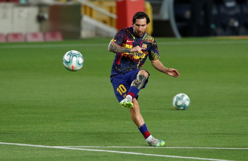 Lionel Messi  — Foto: Albert Gea/Reuters