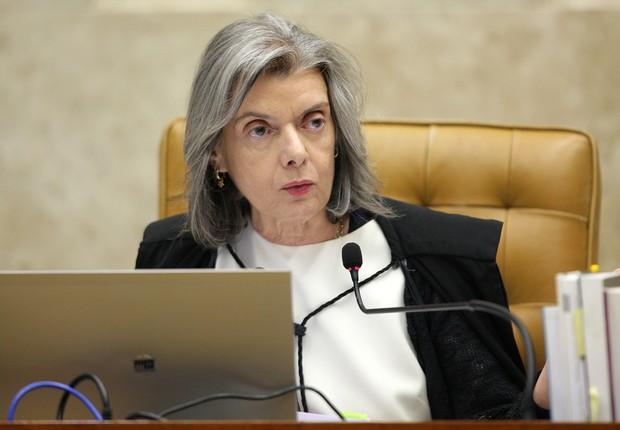 A presidente do Supremo Tribunal Federal (STF), ministra Cármen Lúcia , durante sessão  (Foto: Rosinei Coutinho/SCO/STF)