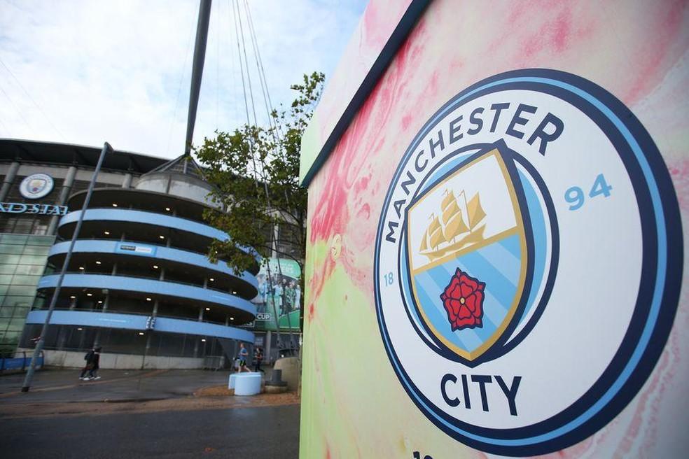 Manchester City está proibido de disputar competições europeias pelos próximos dois anos — Foto: Reprodução de Twitter