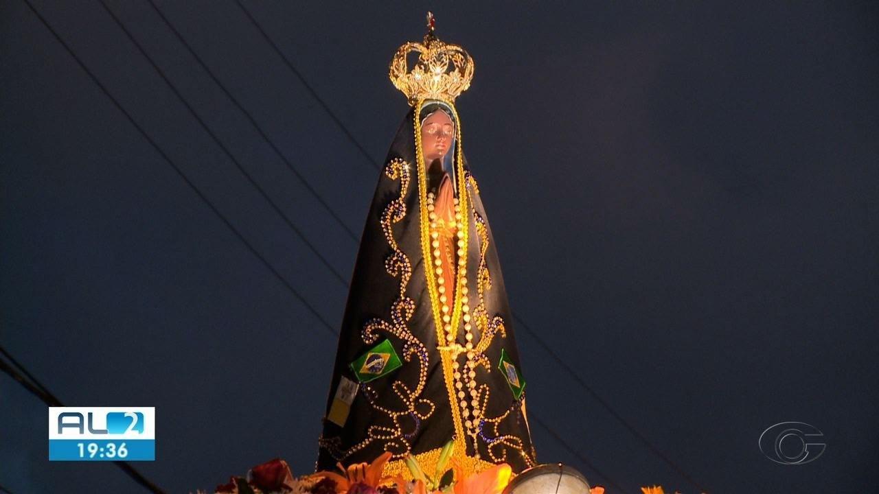 Paróquia em Maceió faz carreata para homenagear Nossa Senhora Aparecida