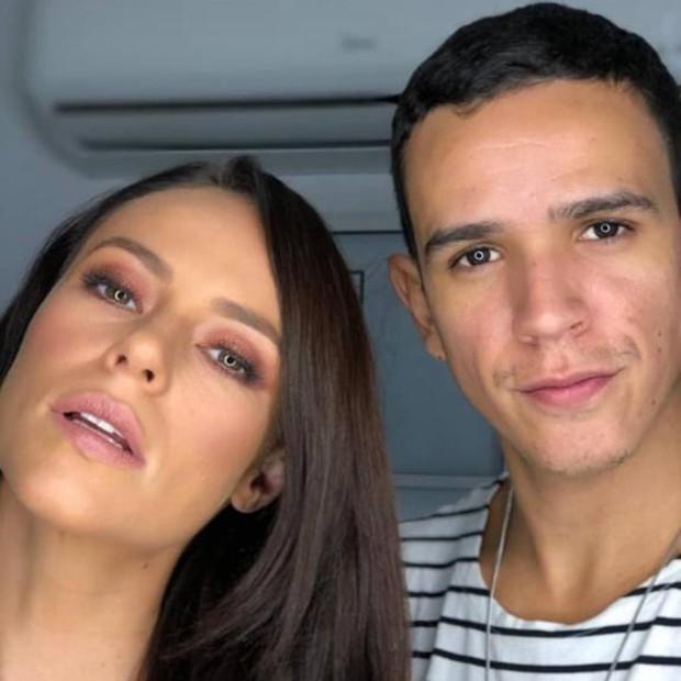 Paolla Oliveira e Guto Moraes (Foto: Reprodução/Instagram)