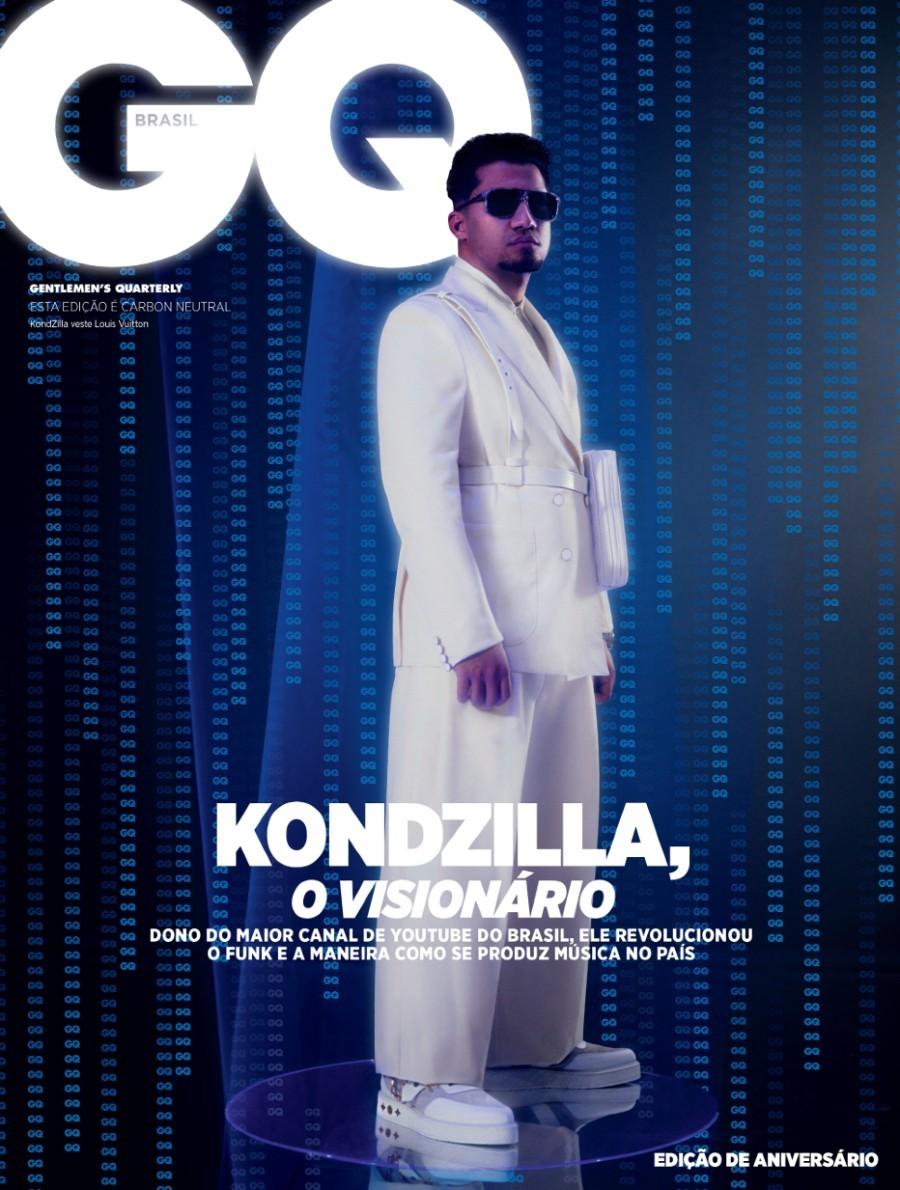 Konrad Dantas, mais conhecido como Kond, da KondZilla é a capa da GQ maio (Foto: Gleeson Paulino)