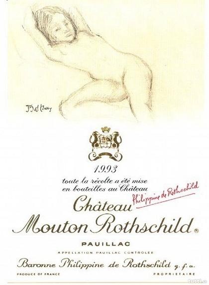 Mouton Rothschild proibido em 1993 (Foto: Divilgação)