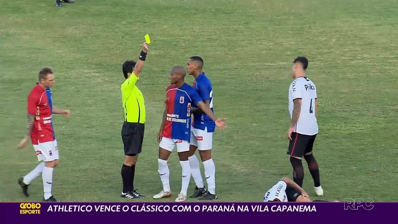 Aspirantes do Athletico vencem o Paraná Clube