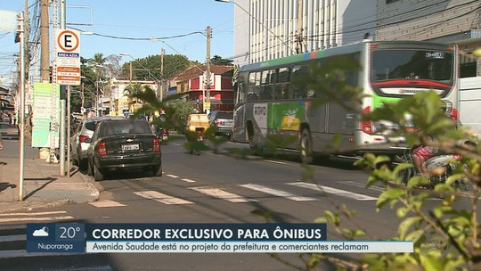 Implantação de corredor de ônibus na Avenida Saudade divide opiniões em Ribeirão Preto, SP