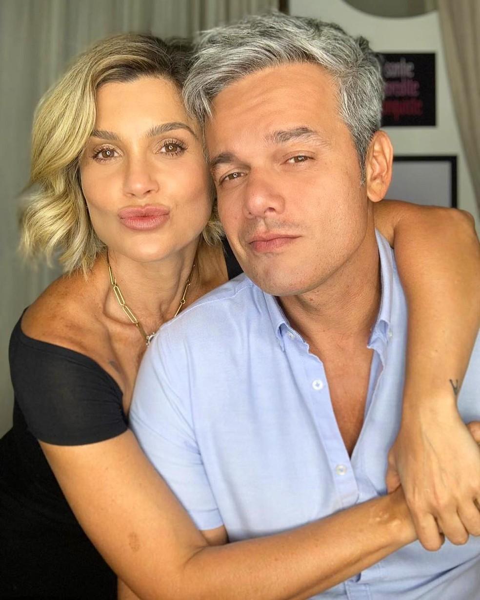 Flávia Alessandra e Otaviano Costa estão juntos desde 2006 — Foto: Reprodução/Instagram