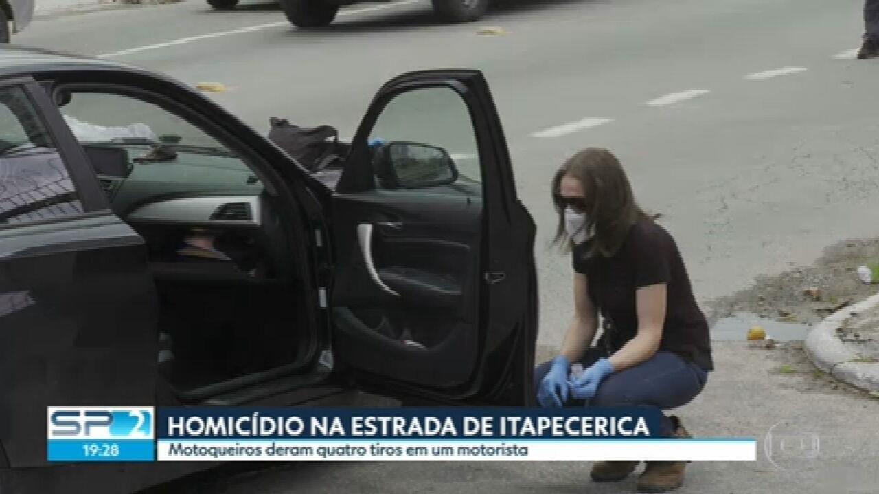 Polícia investiga morte de homem em carro de luxo na Zona Sul da Capital