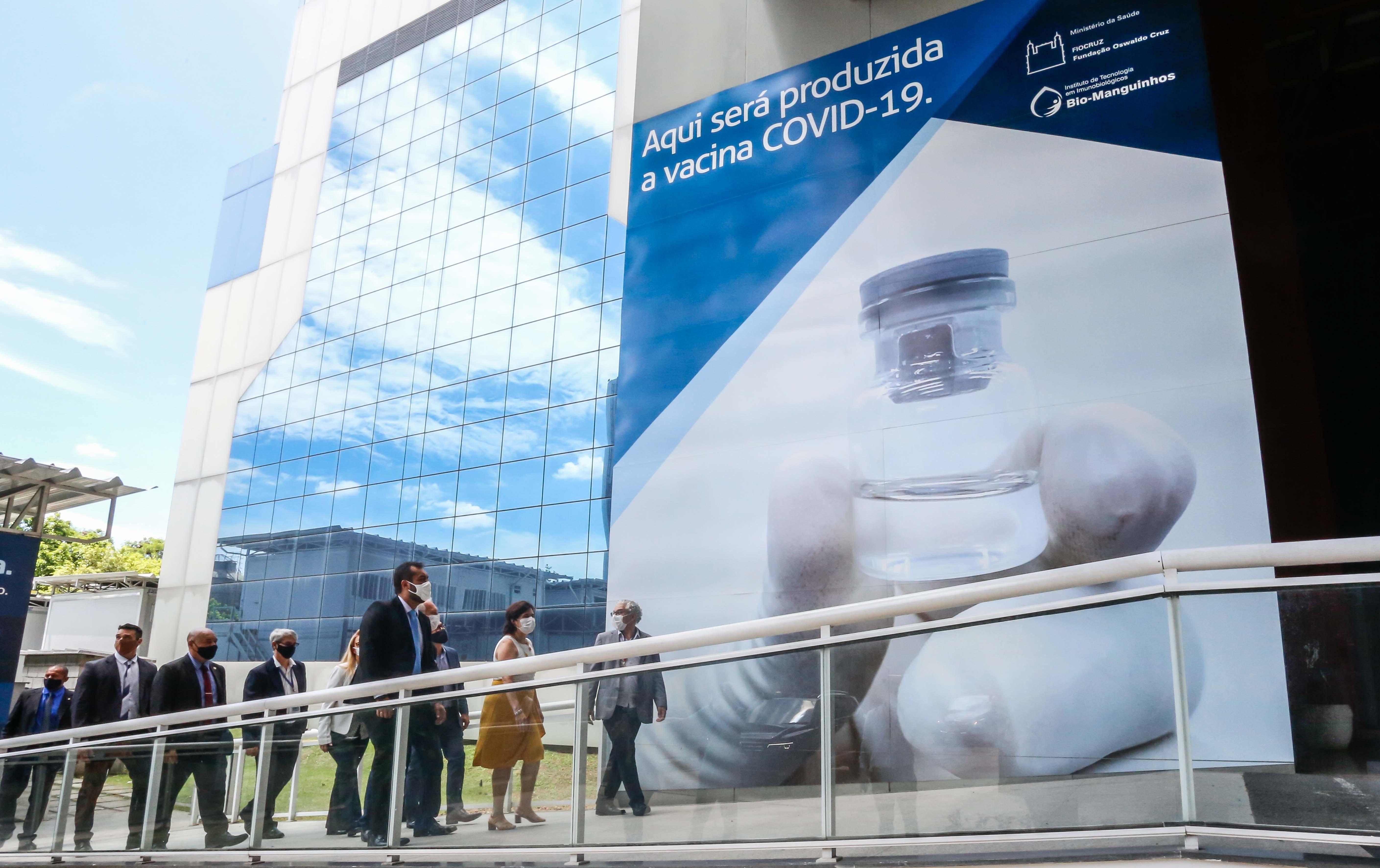 Justiça reverte indisponibilidade de imóvel da Fiocruz onde será fabricada vacina da Covid-19 no Rio, diz AGU