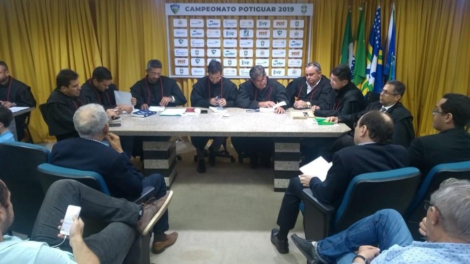 TJD julga recurso do Potiguar de Mossoró e mantém punição com perda de seis pontos