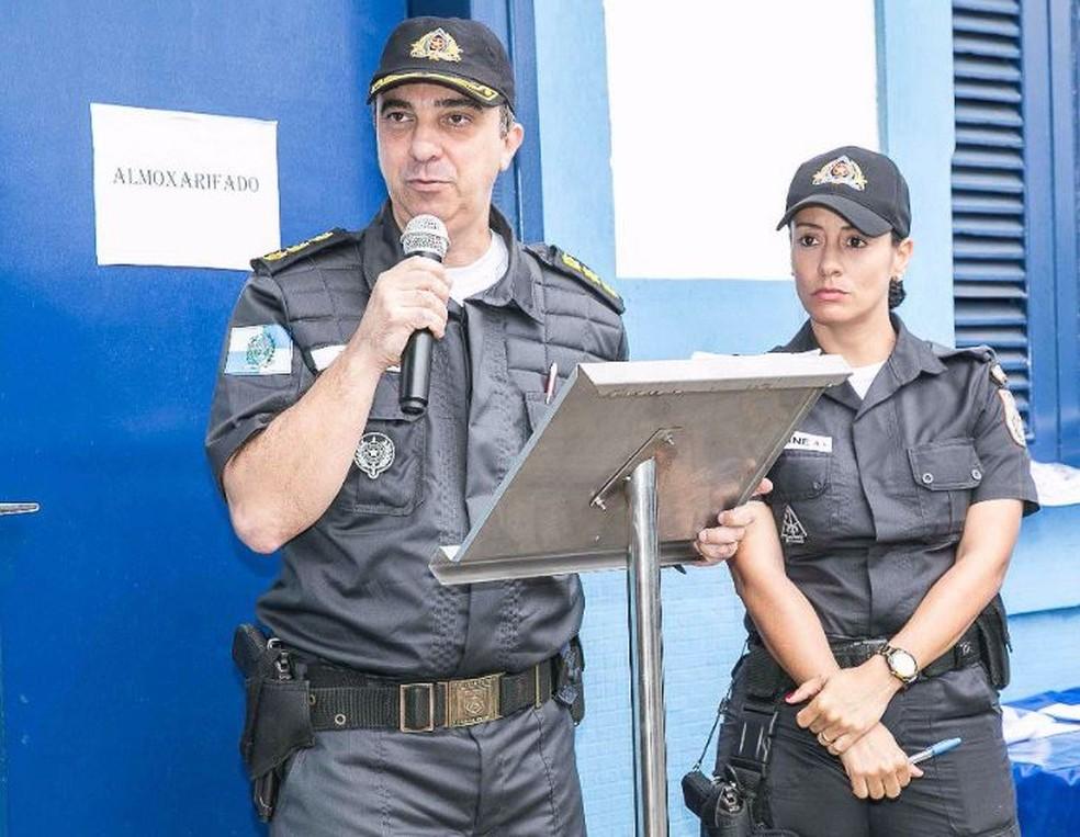 Coronel Teixeira é morto por criminosos no Lins (Foto: Divulgação/PMRJ)