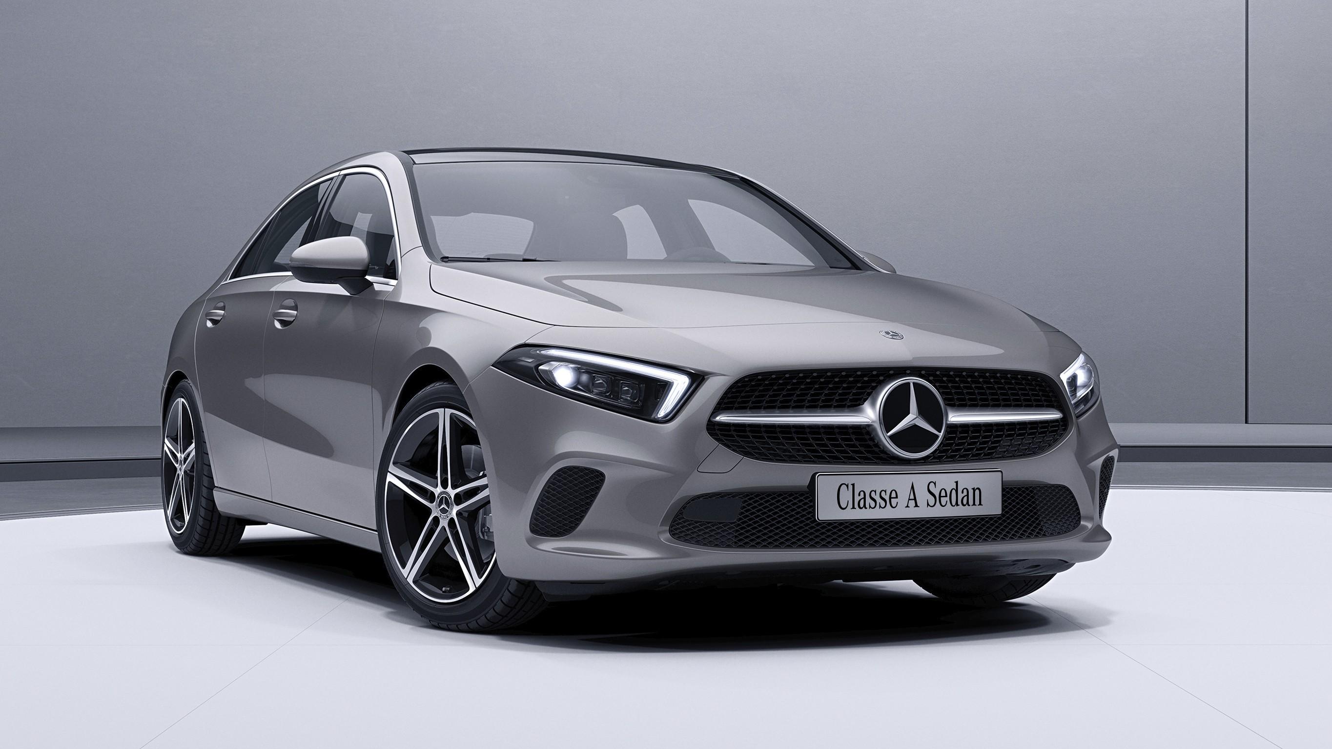 Novo Classe A reúne características que o tornam uma verdadeira referência no segmento de sedans (Foto: Divulgação)