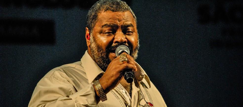 O sambista Arlindo Cruz — Foto: Divulgação
