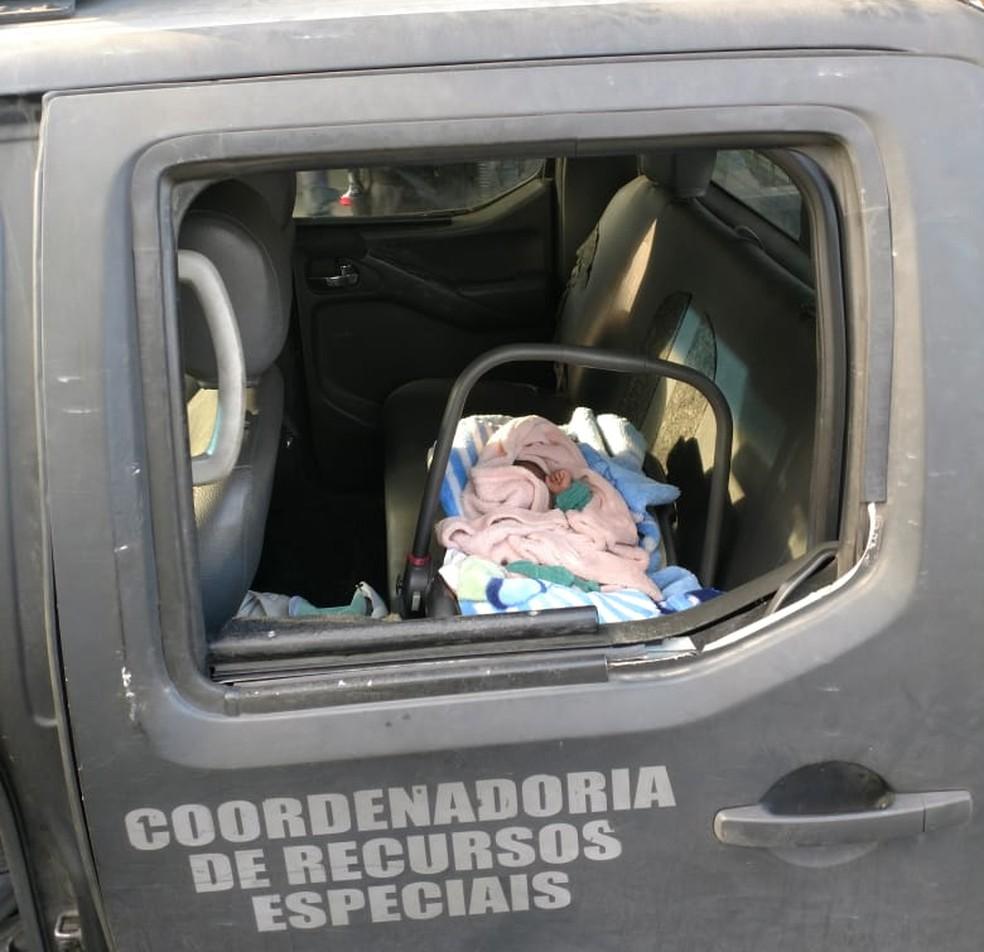 Bebê roubado da barriga da mãe em Paraibuna é recuperado no Rio de Janeiro (Foto: Divulgação/ Polícia Civil)