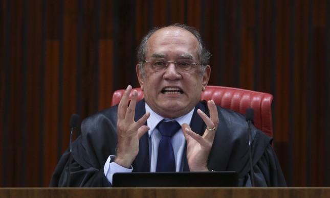 Presidente do TSE Gilmar Mendes