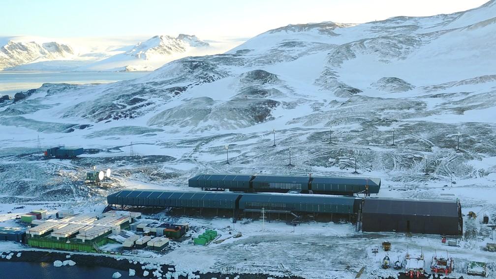 Estação Antártica Comandante Ferraz é inaugurada nesta terça (14) — Foto: Divulgação/Marinha