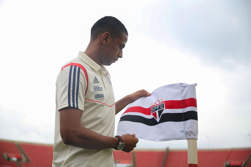Bruno Alves virou capitão do São Paulo — Foto: Igor Amorim/saopaulofc.net