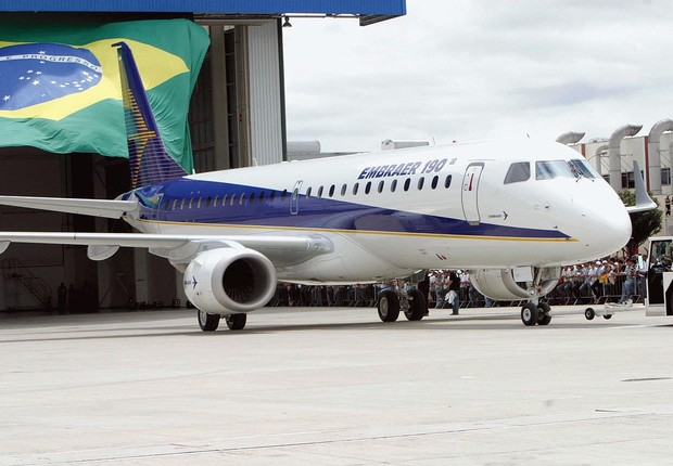 Embraer-190 (Foto:  Wikimedia Commons/Wikipedia)
