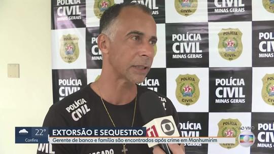 Polícia prende suspeito de sequestro de gerente e família em Manhumirim, na Zona da Mata