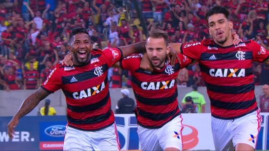 De pé direito, Éverton Ribeiro leva o Fla à semi da Copa do Brasil; veja