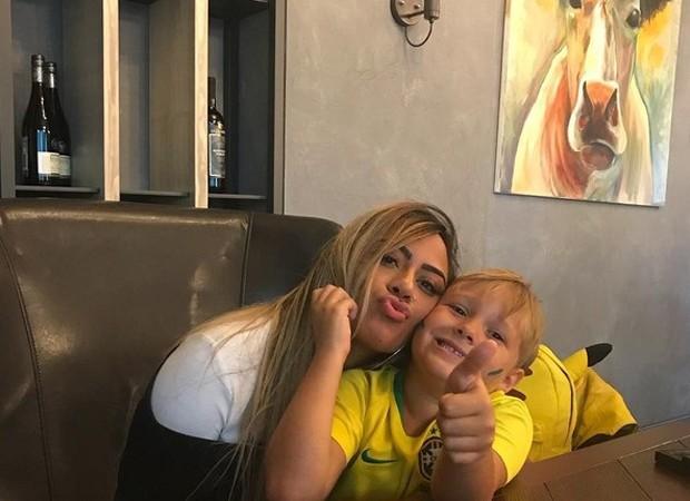 Rafaella e Davi Lucca (Foto: Reprodução/Instagram)