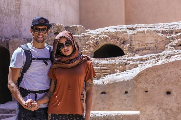 Aline Riscado e Felipe Roque (Foto: Arquivo pessoal)